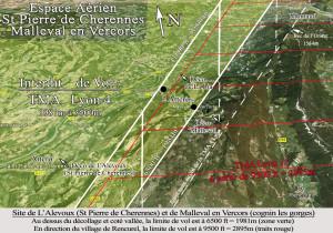 Espace Aèrien St Pierre cherennes et Malleval clair