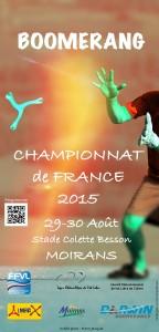 Championnat FRANCE Boomerang
